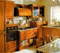 Престижная фирма предлагает кухонную мебель оригинального дизайна. Здесь нарушены элементарные требования пожарной безопасности: не обеспечен доступ воздуха для охлаждения варочной панели.