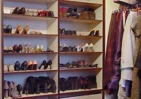 Модуль для хранения обуви в гардеробной
