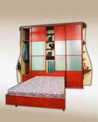 Внутреннее устройство шкафа диктуется его назначением, местоположением и высотой потолков